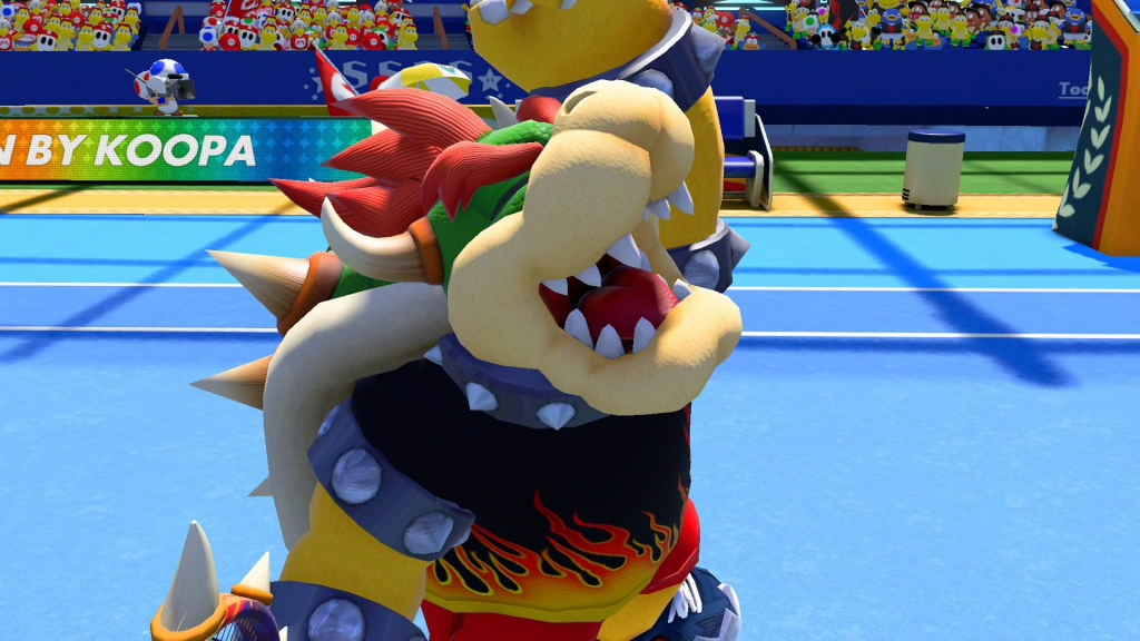 Bowser Tennis Outfit