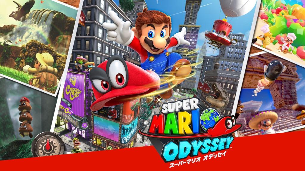 Super Mario Odyssey Japanese Nintendo