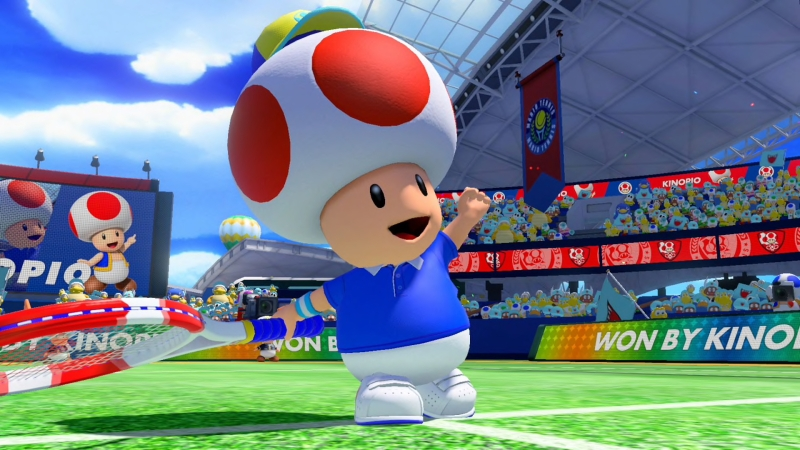 Toad Tennis Outfit