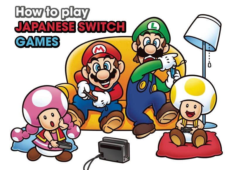 How to play Japanese Switch games