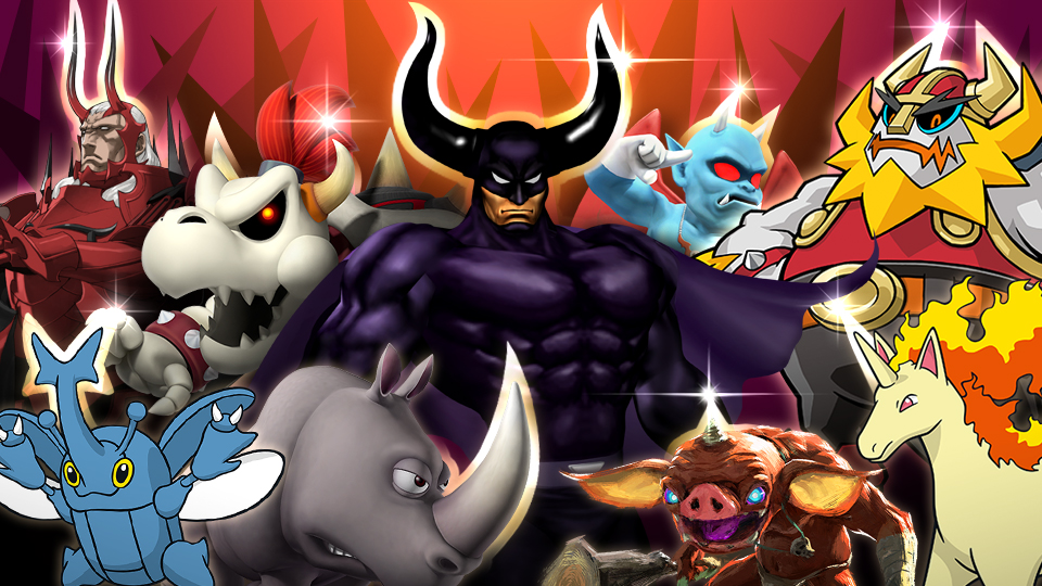 Super Smash Bros. Ultimate horned spirits