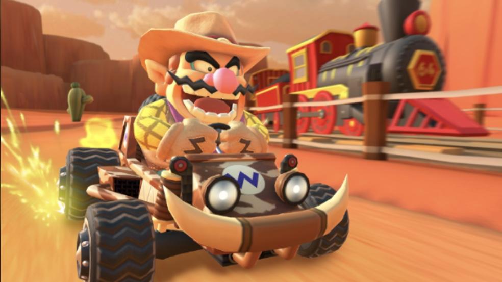 Cowboy Wario