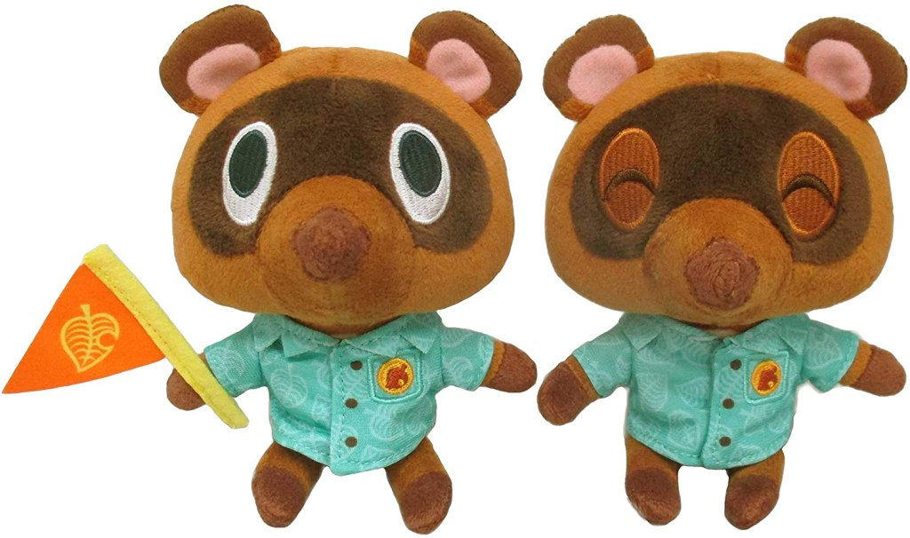 Animal Crossing: New Horizons Timmy & Tommy Nook (S) Plush Toy