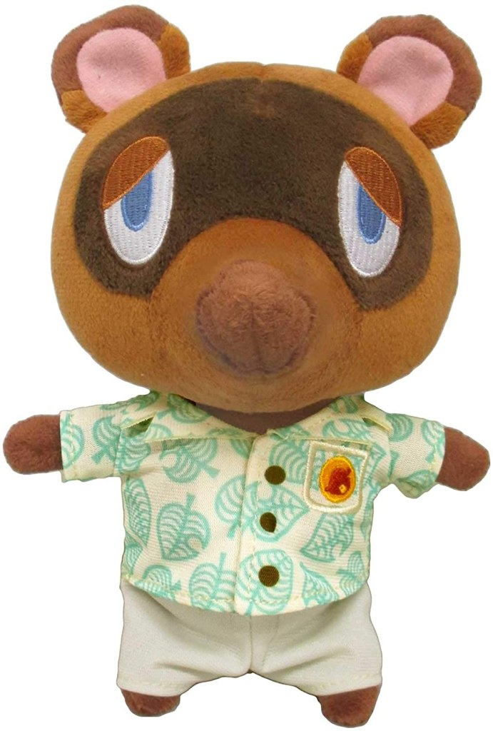 Animal Crossing: New Horizons Tom Nook (S) Plush Toy