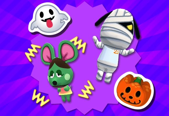 Halloween Poses and Stamps