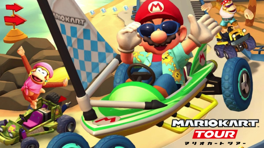Mario Kart Tour Los Angeles Tour