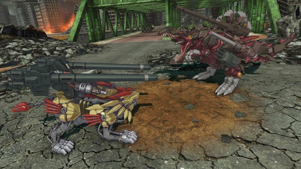 Zoids Wild Infinity Blast
