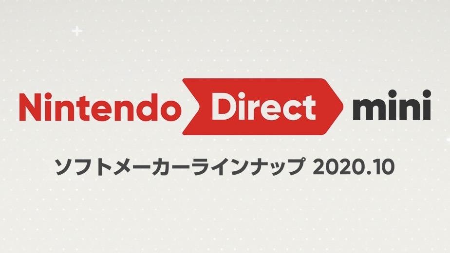 Nintendo Direct mini Partner Showcase 2020.10