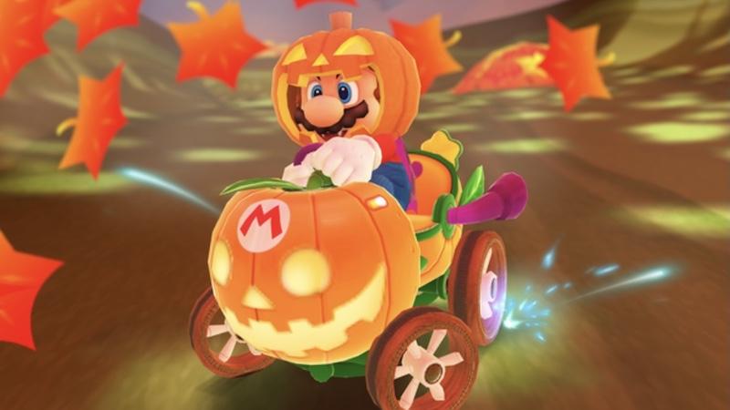 Mario Kart Tour Halloween Mario