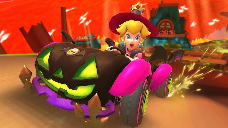Mario Kart Tour Halloween Peach