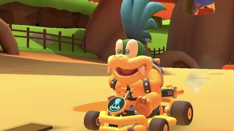 Mario Kart Tour Larry