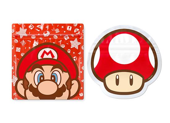 Mario / Super Mushroom Zipper Bags