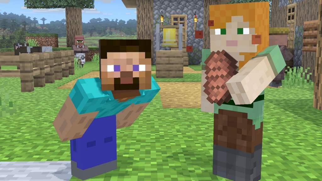 Super Smash Bros. Ultimate × Minecraft