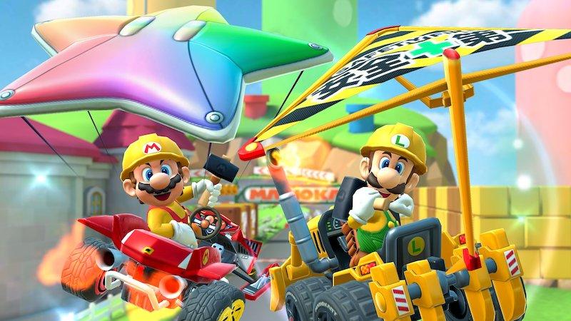 Builder Mario and Builder Luigi