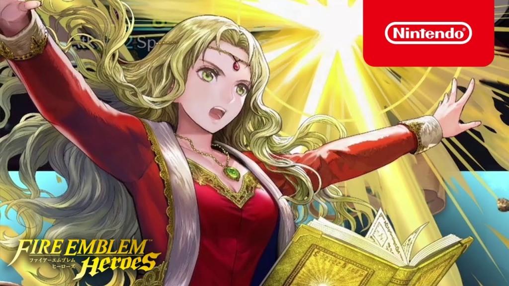 Fire Emblem Heroes - New Heroes (Princess of Bern)