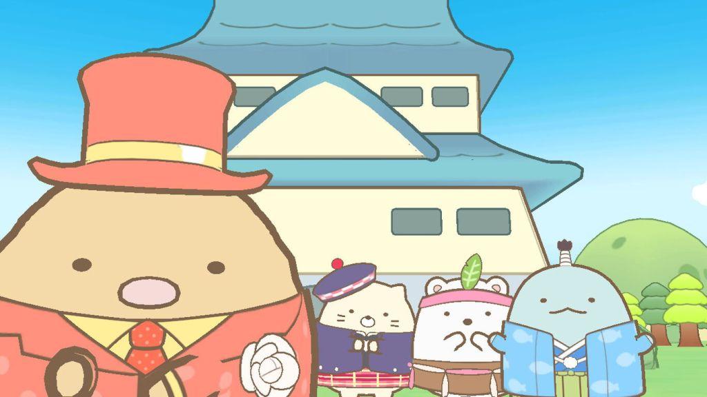 Sumikko Gurashi Oheya no Sumi de Tabikibun Sugoroku